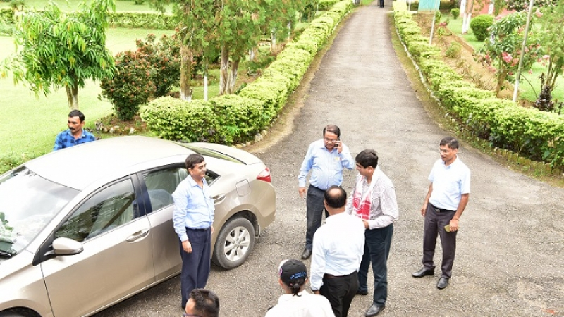 Visit of Shri Chandan Kumar Dey, Director (Finance), Coal India Limited on 07/09/2018